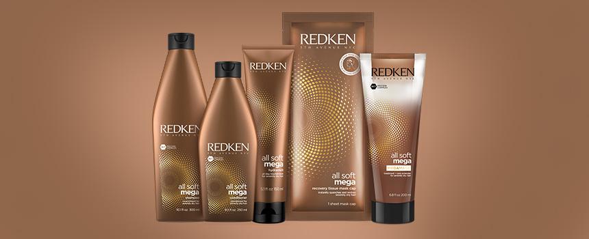 Redken All Soft Mega hair system
