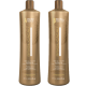 Brasil Cacau Anti-Frizz Shampoo & Conditioner 1 Litre Duo